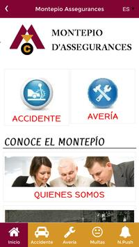 Montepio d'Assegurances poster