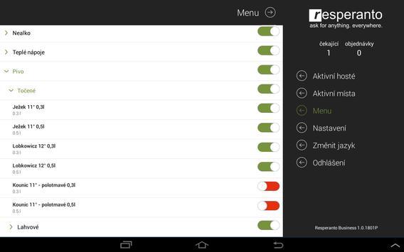 Resperanto Business apk screenshot