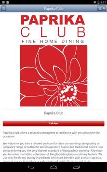 Paprika Club poster