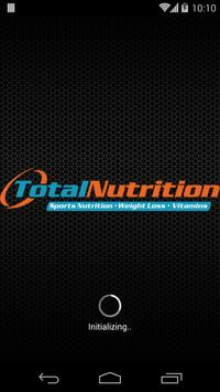 Total Nutrition Miami poster