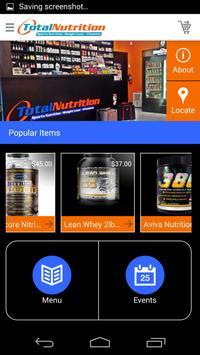 Total Nutrition Miami apk screenshot