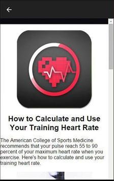 Resting Heart Rate Calculator apk screenshot