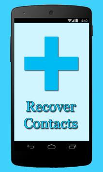 Restore Deleted Contacts Guide poster