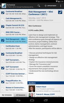 CFMA Events apk screenshot