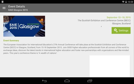 EAIE Events apk screenshot