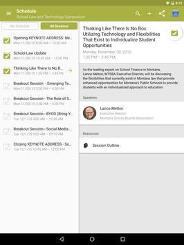 MTSBA Events apk screenshot