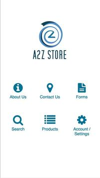 a2z Store poster