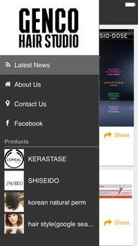 GENCO HAIR STUDIO apk screenshot