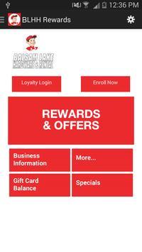 BLHH Rewards poster