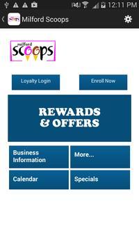 Scoops Rewards poster