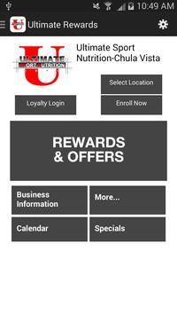 Ultimate Rewards poster
