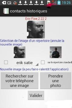 Contacts Historiques Free poster