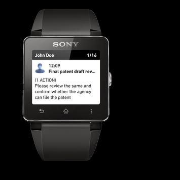 reqallable for Sony SmartWatch poster