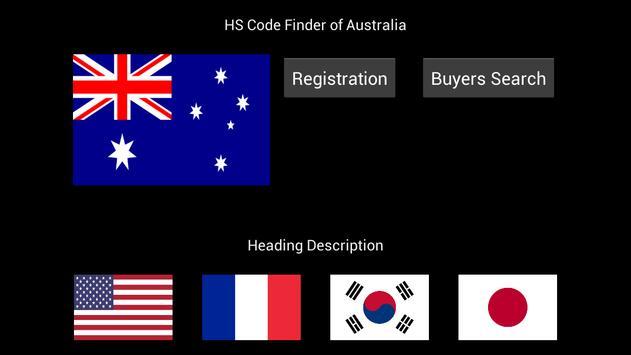 HS Code Finder (Australia) poster