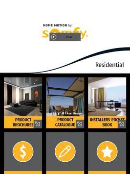 Somfy Residential poster