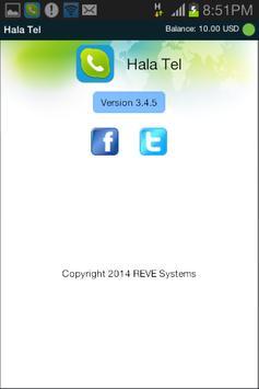 HalaTel apk screenshot