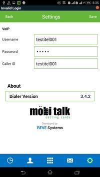 Mobi Talk apk screenshot