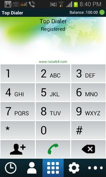 TopDialer apk screenshot