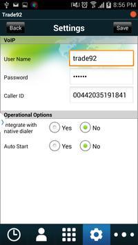 trade92 mobile dialer apk screenshot