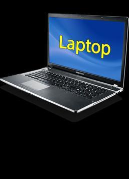 Laptop poster