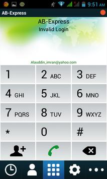 AB Express Dialer apk screenshot