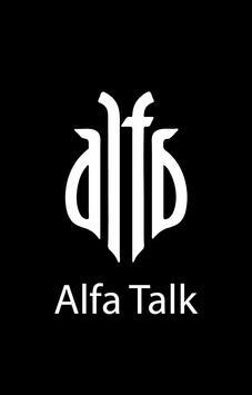 Alfa Talk poster