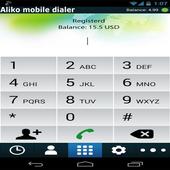 Aliko platinum dialer icon