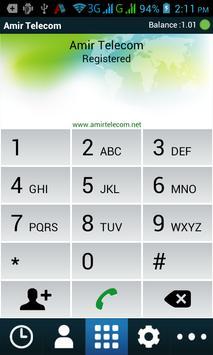 Amir Telecom apk screenshot