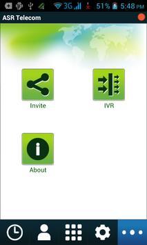 ASR Telecom apk screenshot