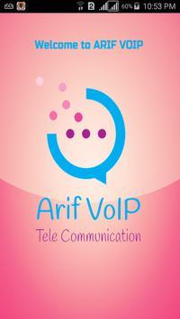 Arif VoIP Mobile Dialer poster