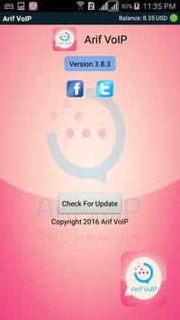 Arif VoIP Mobile Dialer apk screenshot