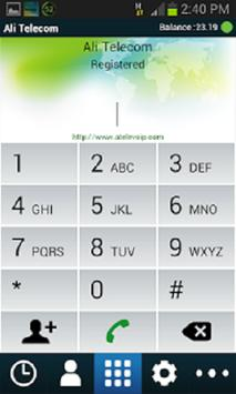 Ali Telecom apk screenshot