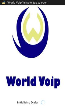 WORLD VOIP poster