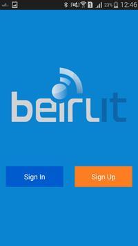 BeirutIT poster