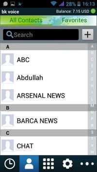 BK voice apk screenshot