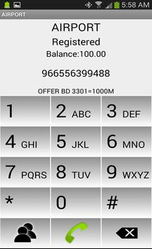 Airport Dialer apk screenshot