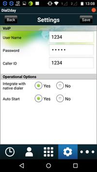 Dial2day itell apk screenshot