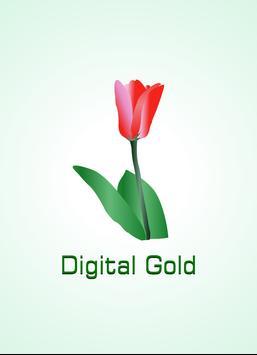 DIGITAL GOLD poster