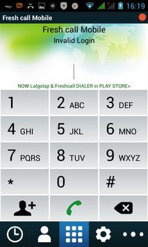 Fresh call Mobile poster