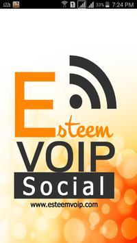 Esteem VoIP Social poster