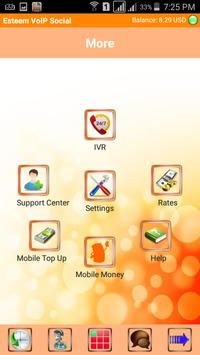 Esteem VoIP Social apk screenshot