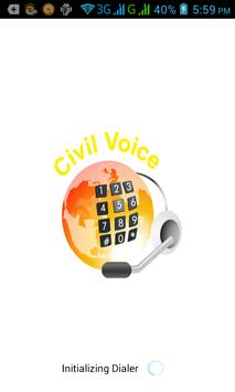 civil voice poster