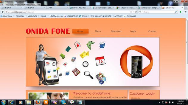 ONIDA Dialer apk screenshot