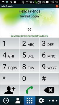 Hello Friends apk screenshot