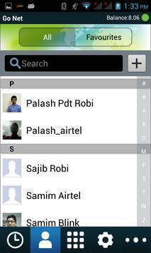 GoNet dialer apk screenshot