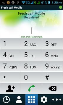 Fresh Call apk screenshot
