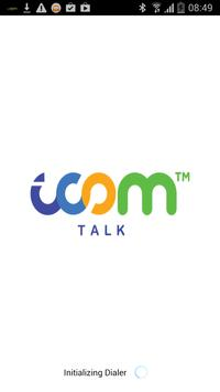 iCOM TALK poster