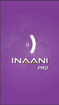 INAANI Pro poster