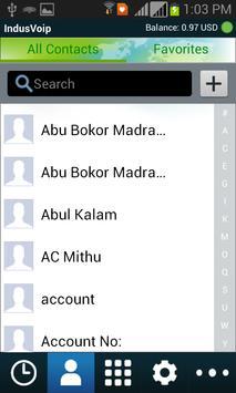 IndusVoip apk screenshot