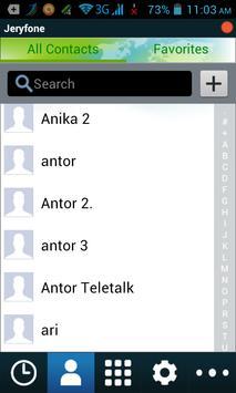 Jeryfone apk screenshot